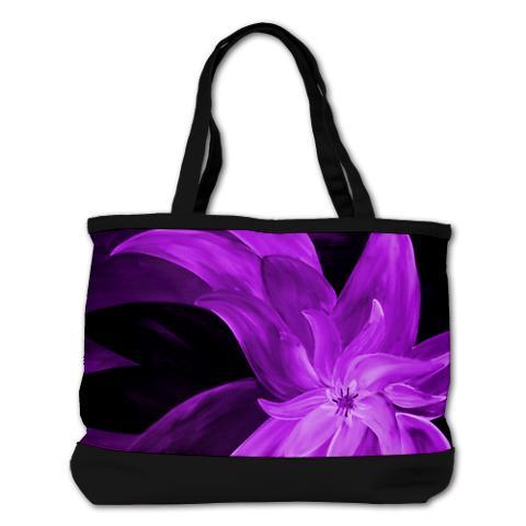 designer_purple_floral_shoulder_bag