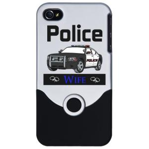 police_wife_iphone_case