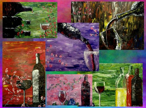 Sensual Wine Series Collage low rez