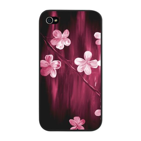 abstract_cherry_blossom_iphone_snap_case