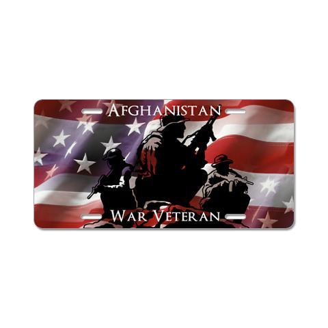 afghanistan_war_veteran_aluminum_license_plate