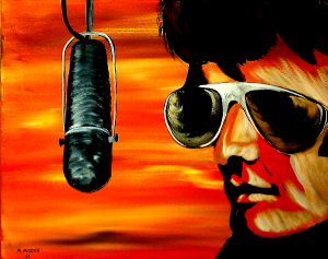 Burning Love - Elvis Presley by Mark Moore  copyright protected