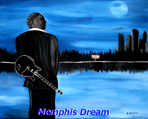 Memphis Dream - B.B. King by Mark Moore  copyright protected