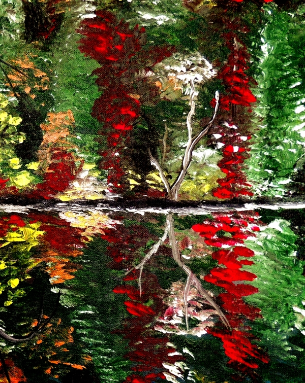 Reflection closeup2