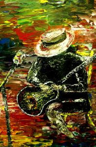 Santana - Carlos Santana by Mark Moore copyright protected