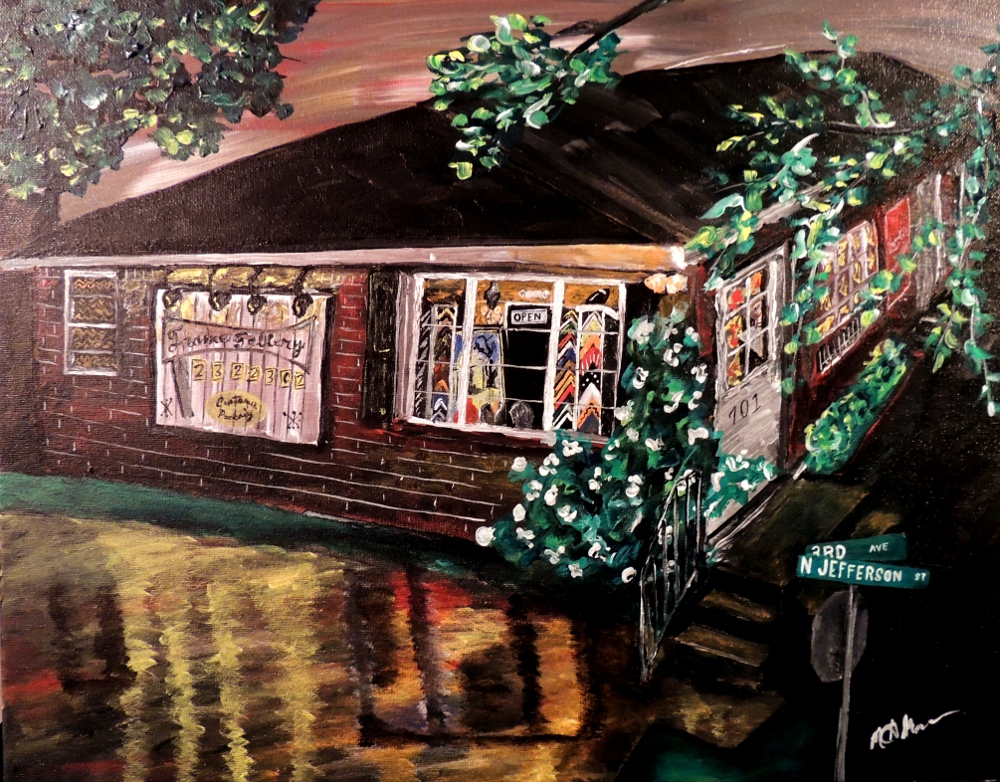 Framing in Athens Alabama | The Art Studio by Mark Moore