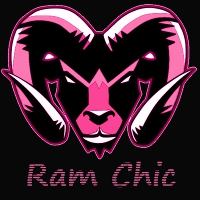 Ram Chic pink with black 3 low